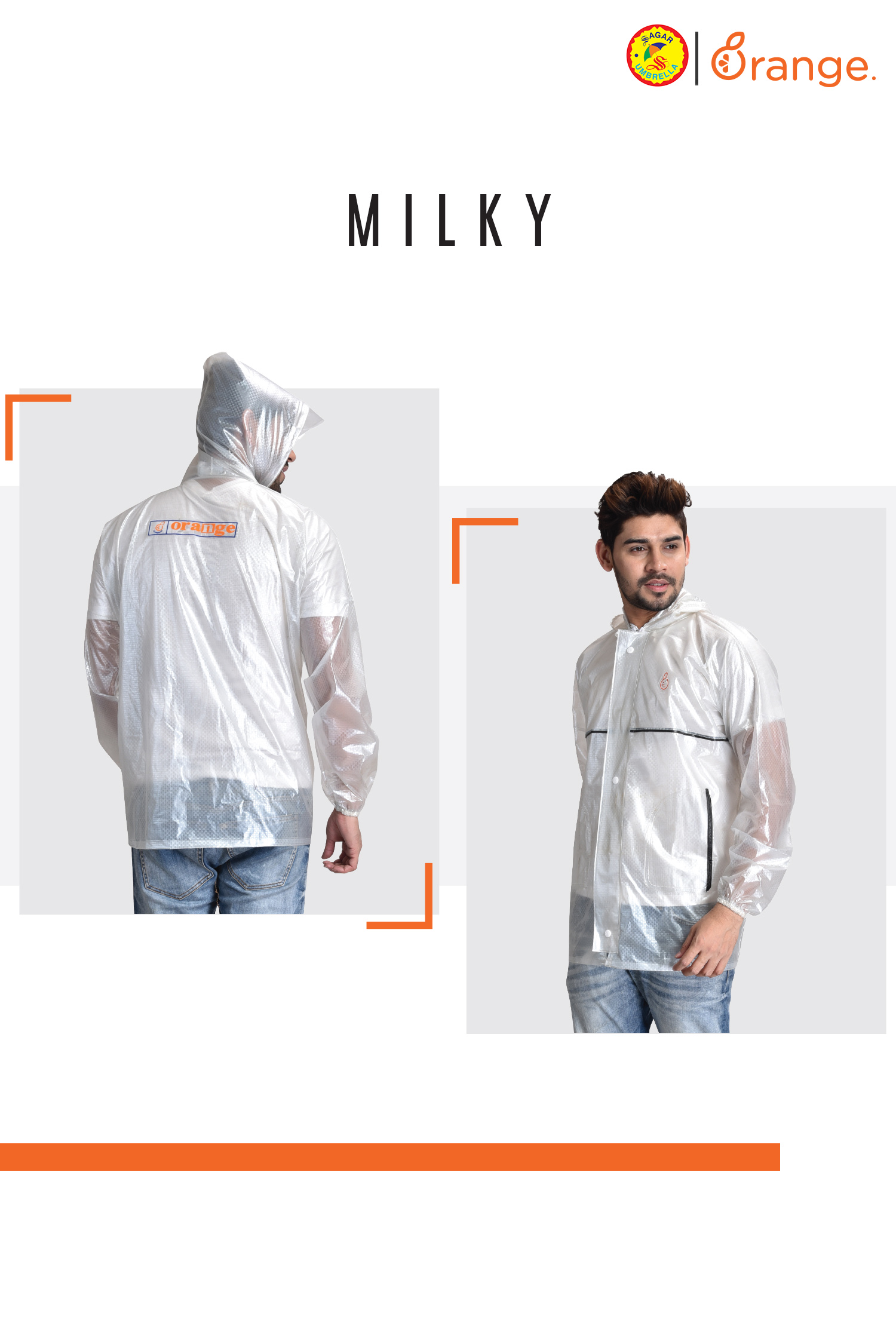 Transparent Raincoats for Men