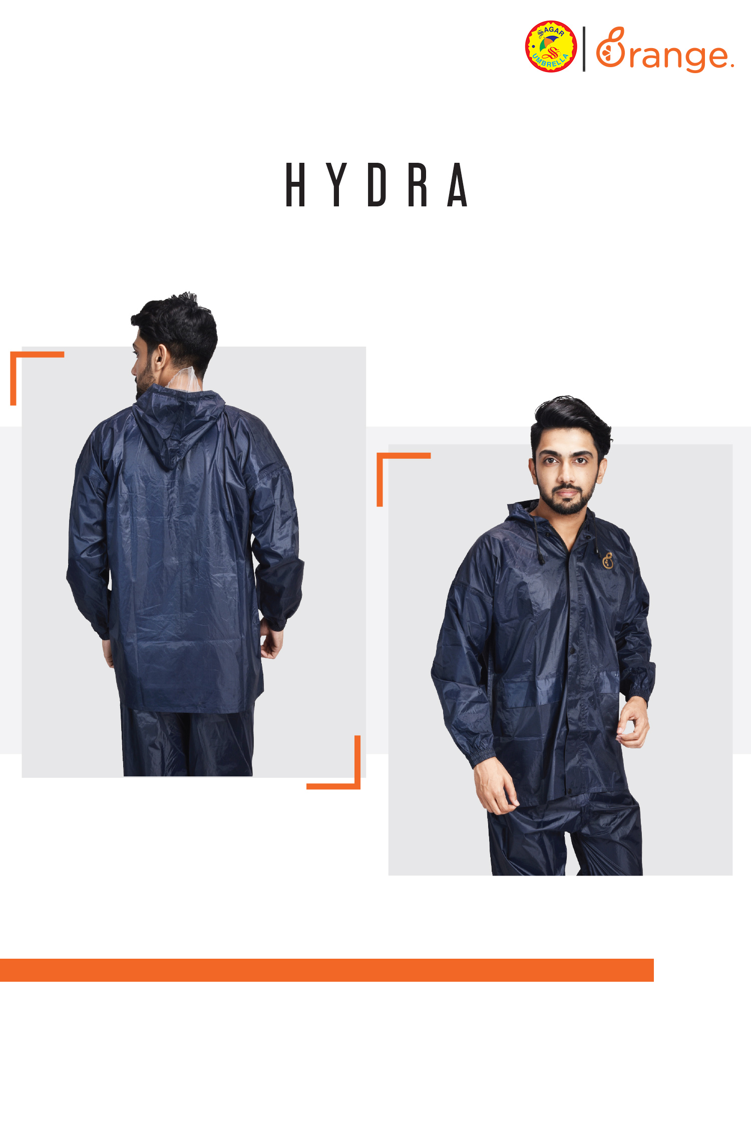 Fashion Men Raincoats