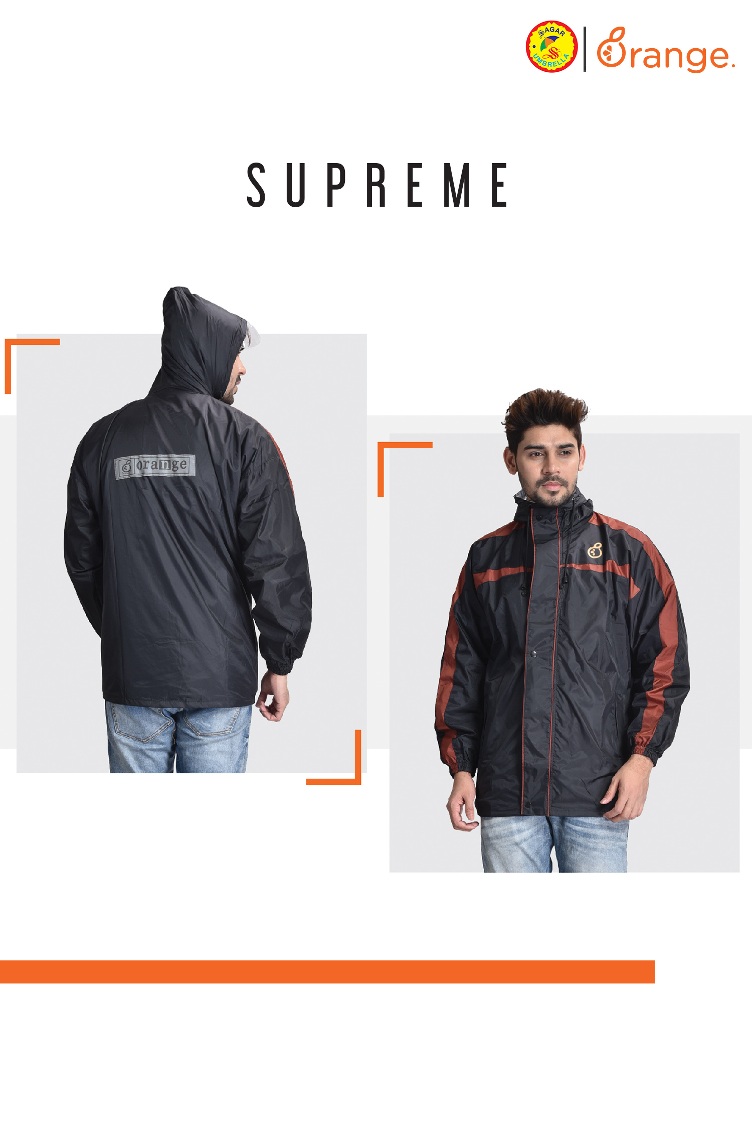 Supreme Men Raincoat