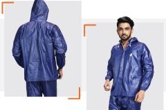Raincoat set for bikes