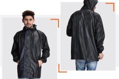 Black Men Raincoats