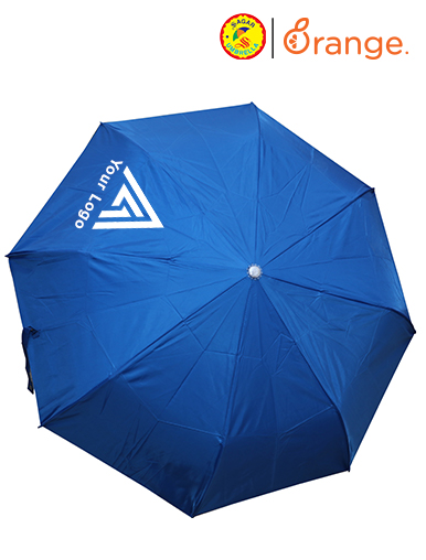 Advertisement on Umbrellas