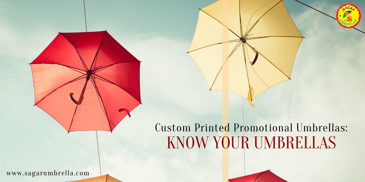 Custom Printed Promotional Umbrellas Know Your Umbrellas
