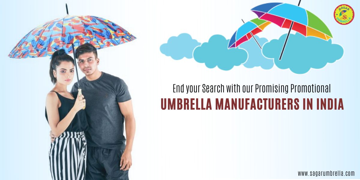 End your Search with our Promising Promotional Umbrella Manufacturers in India