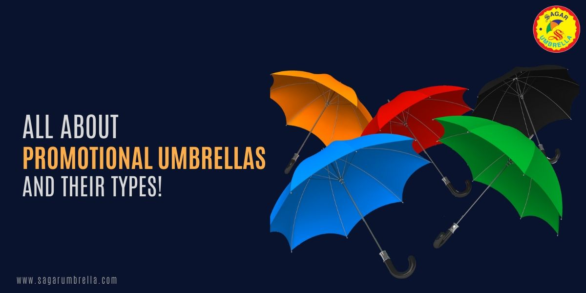 All-About-Promotional-Umbrellas-and-Their-Types